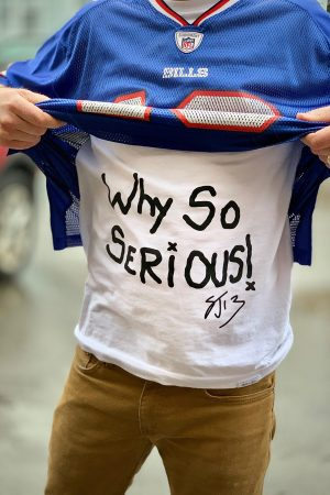 Stevie Johnson - Why So Serious! T-Shirt