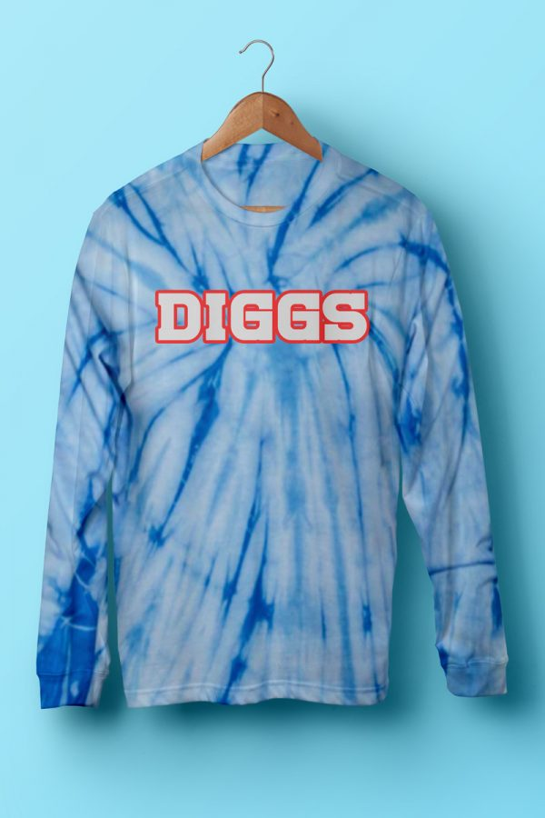 DIGGS Tie-Dye Long Sleeve T-Shirt