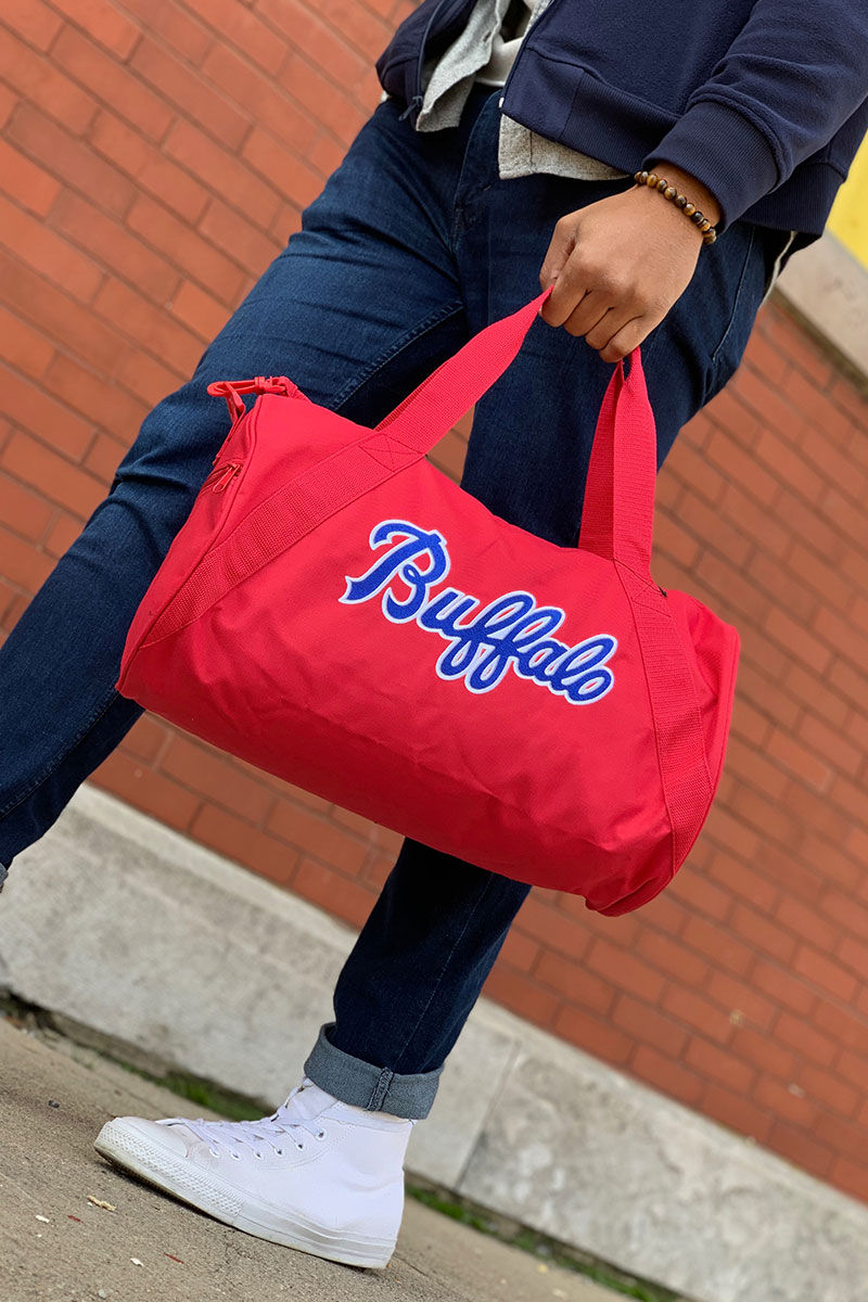 Buffalo Weekender Duffel Bag