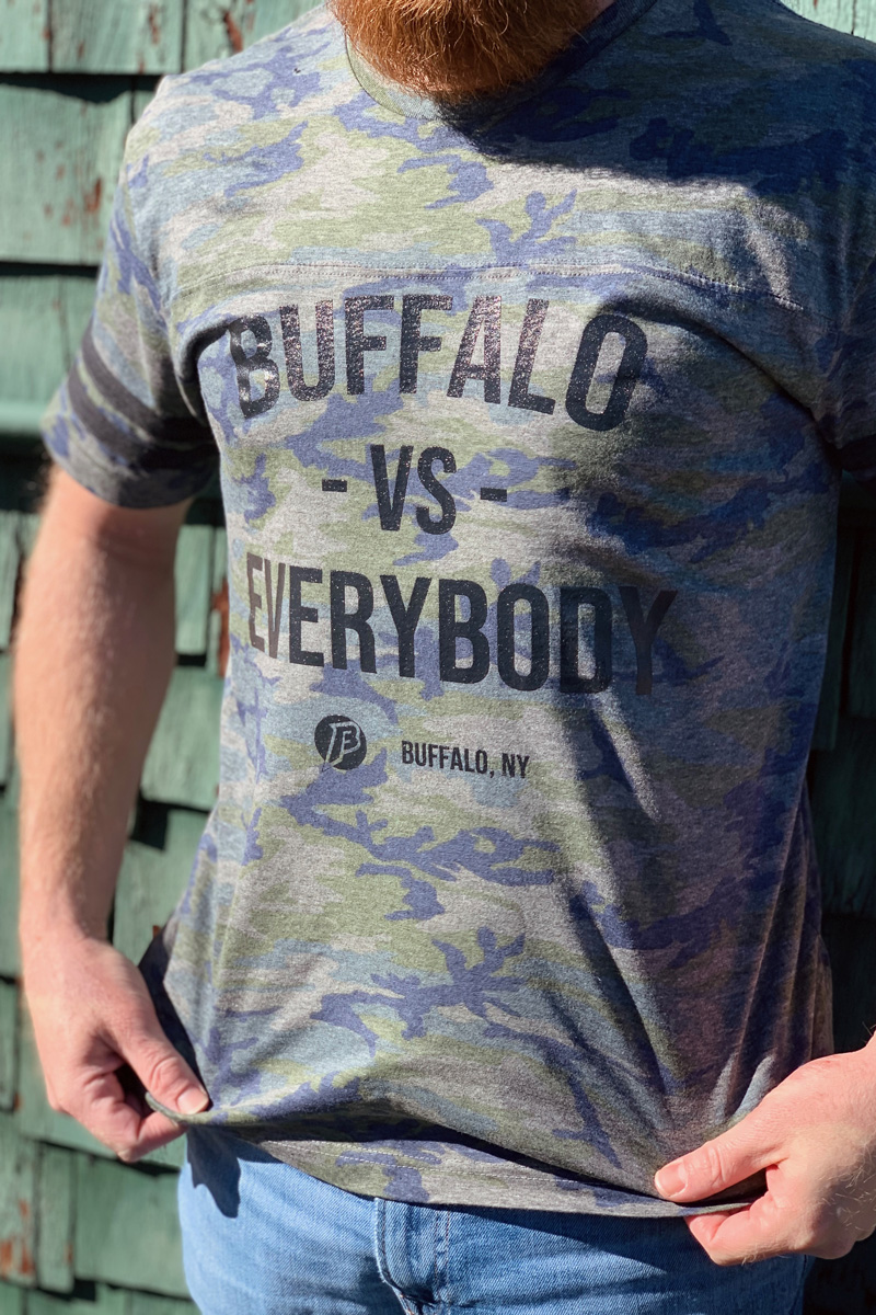 Buffalo VS Everybody Camo Limited Run – Buff-a-logo