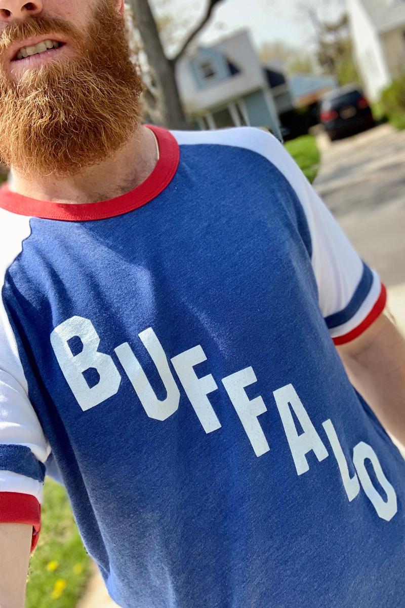 Vintage Cascading Buffalo T-Shirt