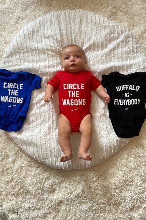 Buffalo Baby Onesies