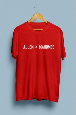 Allen > Mahomes